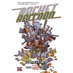 Rocket Raccoon, Storytailer : Volume 2 by Skottie Young, 9780785193906.