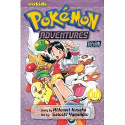 Pokemon Adventures, Pokemon Adventures Series : Book 10 by Hidenori Kusaka, 9781421530635.