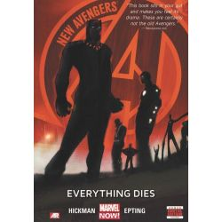 New Avengers, Everything Dies (Marvel Now) Volume 1 by Jonathan Hickman, 9780785166610.
