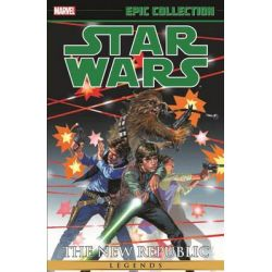 Star Wars : The New Republic , Legends Epic Collection : Volume 1 by Timothy Zahn, 9780785197164.