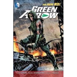 Green Arrow Volume 4: Kill Machine, The New 52! by Andrea Sorrentino, 9781401246907.