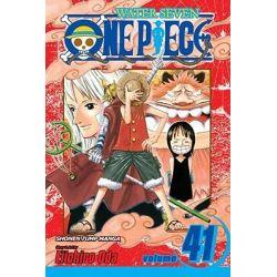 One Piece : Declaration Of War, Volume 41, Declaration Of War, Volume 41 by Eiichiro Oda, 9781421534572.