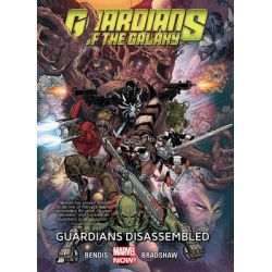 Guardians Disassembled, Guardians of the Galaxy (Marvel Now) : Volume 3 by Brian Michael Bendis, 9780785189671.