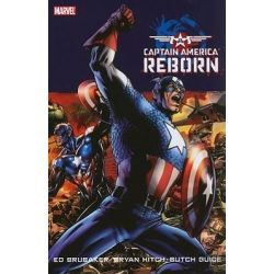 Captain America, Reborn by Ed Brubaker, 9780785140733.