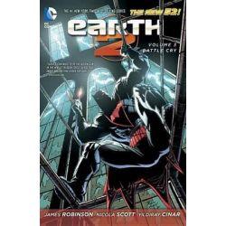 Earth 2, Battle Cry Volume 3 by Nicola Scott, 9781401249380.