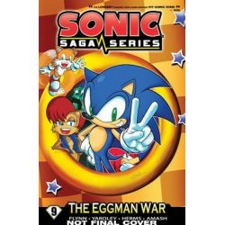 Sonic Saga Series 9, The Eggman Wars by Sonic Scribes, 9781627389969.