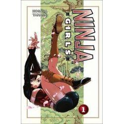 Ninja Girls, Volume 1, Ninja Girls by Hosana Tanaka, 9781612623092.
