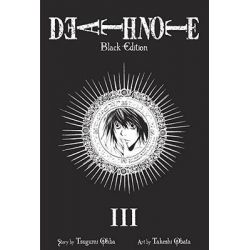 Death Note Black, Black Edition Book 3 by Tsugumi Ohba, 9781421539669.