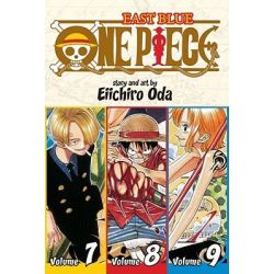 One Piece : East Blue, Volume 7 - 9, East Blue, Volume 7 - 9 by Eiichiro Oda, 9781421536279.
