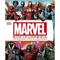 Marvel Encyclopedia, The Definitive Guide to the Characters of the Marvel Universe by DK Publishing, 9781465415936.