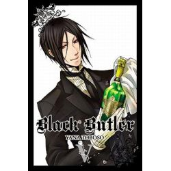 Black Butler, Book 5 by Yana Toboso, 9780316084291.