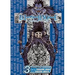 Death Note, Book 3 by Takeshi Obata, 9781421501703.
