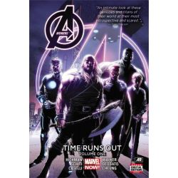 Avengers, Time Runs Out : Volume 1 by Jonathan Hickman, 9780785189237.