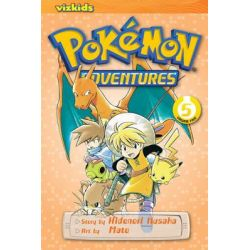 Pokemon Adventures, Book 5 by Hidenori Kusaka, 9781421530581.