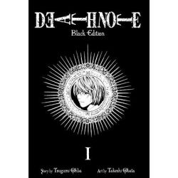 Death Note Black, Black Edition Book 1 by Tsugumi Ohba, 9781421539645.