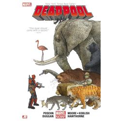 Deadpool Volume 1, Marvel Now! Series Hardcover Edition by Brian Posehn, 9780785154464.