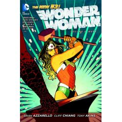 Wonder Woman Volume 2: Guts, The New 52! by Cliff Chiang, 9781401238100.