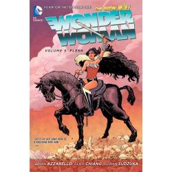 Wonder Woman Volume 5: Flesh , The New 52! by Cliff Chiang, 9781401253493.