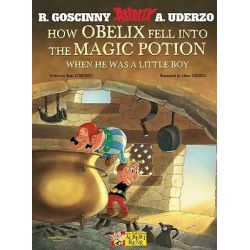 How Obelix Fell into the Magic Potion, Asterix by Rene Goscinny, 9781444000269.