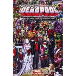 Deadpool Volume 5: Wedding of Deadpool, Marvel Now! Series by Fabian Nicieza, 9780785189336.