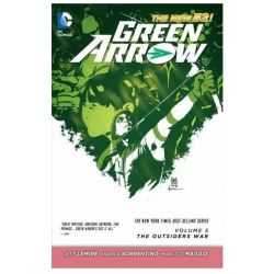 Green Arrow Volume 5: The Outsiders War, The New 52! by Andrea Sorrentino, 9781401250447.