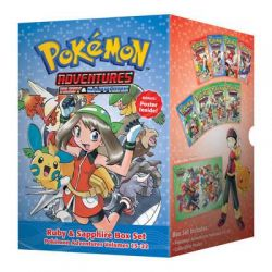 Pokemon Adventures Ruby & Sapphire Box Set, Volumes 15-22 by Hidenori Kusaka, 9781421577760.