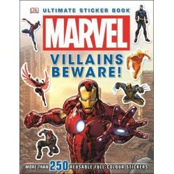 Ultimate Sticker Collection : Marvel : Villains Beware, More Than 250 Reusable Full Color Stickers by Dorling Kindersley, 9781409349044.