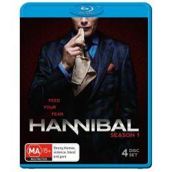 Hannibal on DVD.
