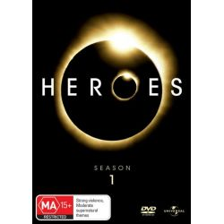 Heroes on DVD.