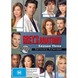 Grey's Anatomy on DVD.