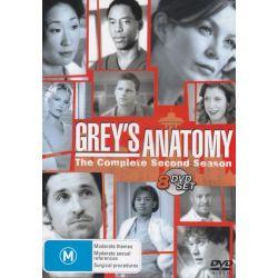 Grey's Anatomy on DVD.