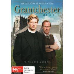 Grantchester on DVD.