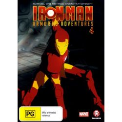Iron Man on DVD.