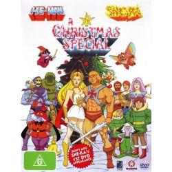 He-Man and She-Ra on DVD.