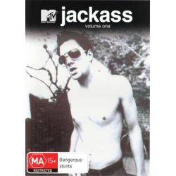 Jackass on DVD.