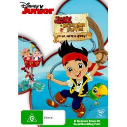 Jake and the Never Land Pirates on DVD.