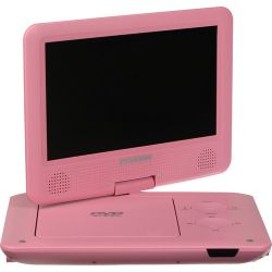 "Sylvania SDVD9020B 9"" Portable DVD Player SDVD9020B-PINK"