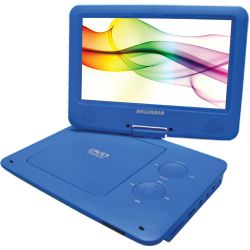 "Sylvania SDVD9020B 9"" Portable DVD Player SDVD9020B-BLUE"