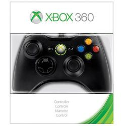 Microsoft Xbox 360 Wired Controller (Black) S9F-00001 B&H Photo