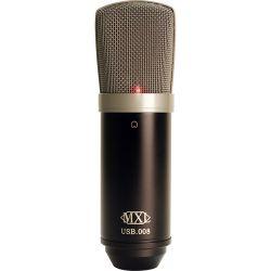 MXL USB.008 Large-Diaphragm Condenser Microphone with USB USB