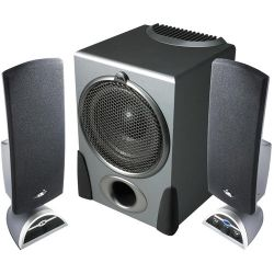 Cyber Acoustics CA-3550 32W 2.1-Channel Multimedia CA-3550RB B&H