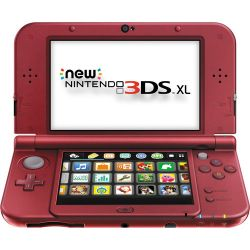 Nintendo  3DS XL Handheld Gaming System REDSRAAA B&H Photo Video