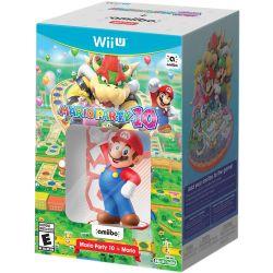 Nintendo Mario Party 10 with Mario amiibo Figure (Wii U)