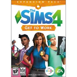 Electronic Arts The Sims 4 Get to Work Expansion Pack 73314 B&H