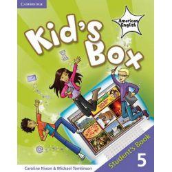 Kid's Box American English Level 5 Student's Book, Student's book 5 by Caroline Nixon, 9780521178013.