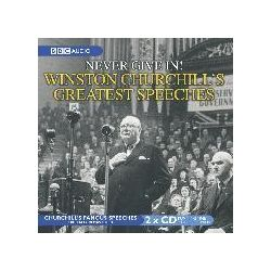 Winston Churchill's Greatest Speeches, Never Give in! Vol 1 Audio Book (Audio CD) by Winston Churchill, 9780563526728. Buy the audio book online.