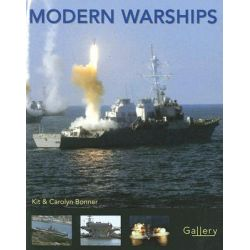 Modern Warships, Gallery by Kit Bonner, 9780760329504.