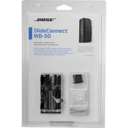Bose SlideConnect WB-50 Wall Bracket (Black) 716402-0010 B&H