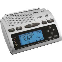 Midland WR-300 S.A.M.E. Weather / All Hazards Alert WR300MID B&H
