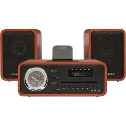 Crosley Radio Audiophile Shelf System with AM/FM CR3012A-PA B&H